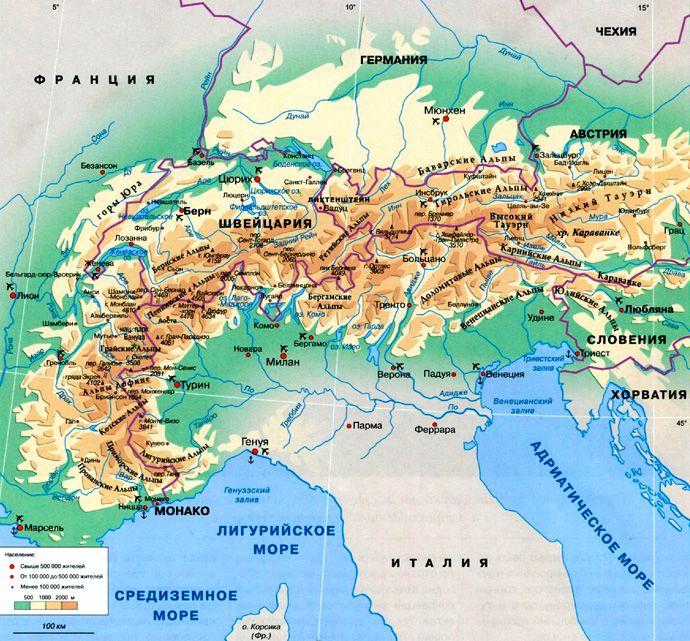 Jakie Kraje Znajduja Sie W Alpach Alpy Gdzie Sa Te Piekne Gory