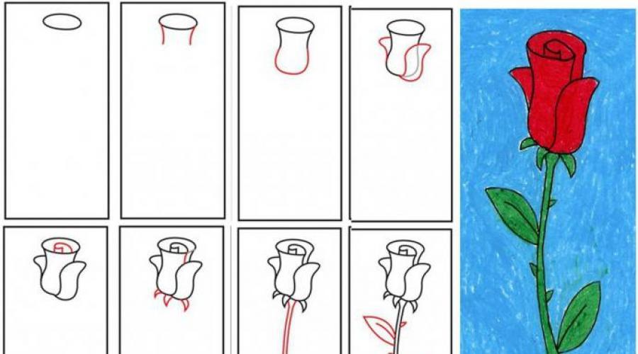 нее как нарисовать открытку из листа нарисовать крепко
