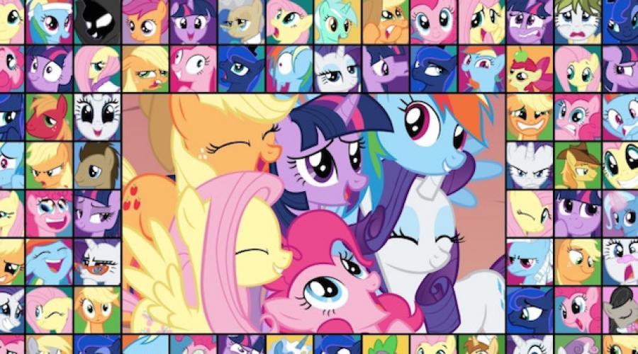 Pony Kecilku Mainan Poni Kecilku My Little Pony Pahlawan Dan Cerita Kartun My Little Pony