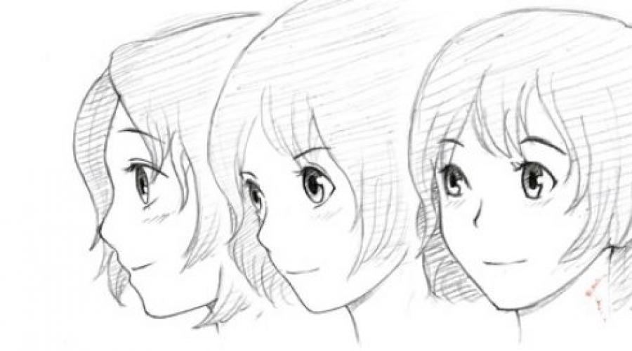 تعلم رسم الانمي رسم شخصية انمي على مراحل بقلم رصاص للمبتدئين