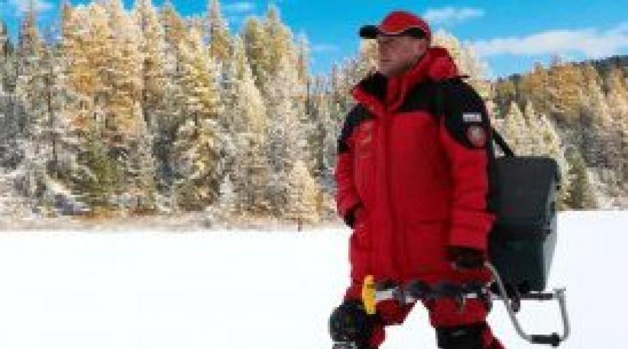 Quale abito invernale scegliere per la pesca. Come scegliere